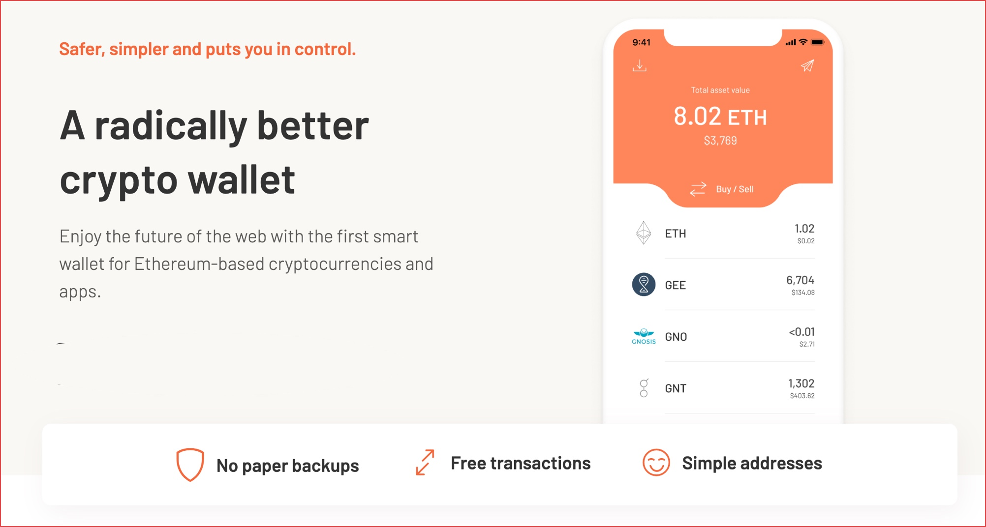 best ethereum wallet in india