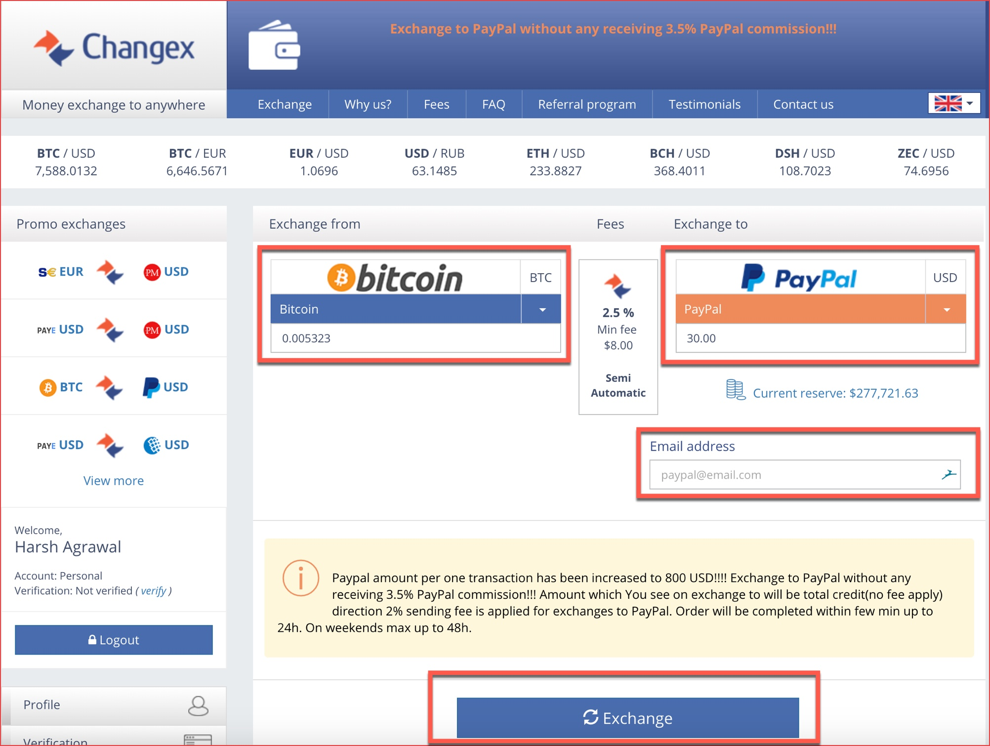 Bitcoin In Paypal