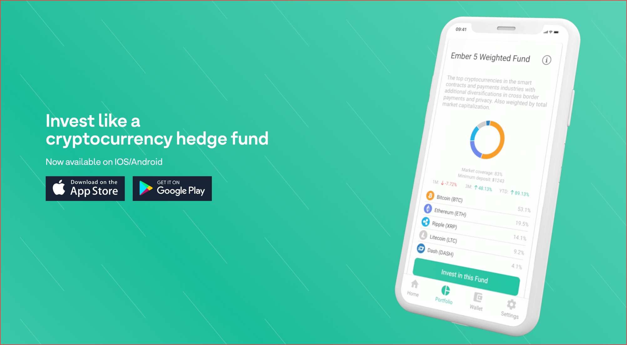 cryptocurrency tracker fund